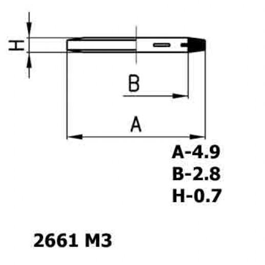 Цена фитинга Уплотнительное кольцо пластиковое 2661 M3