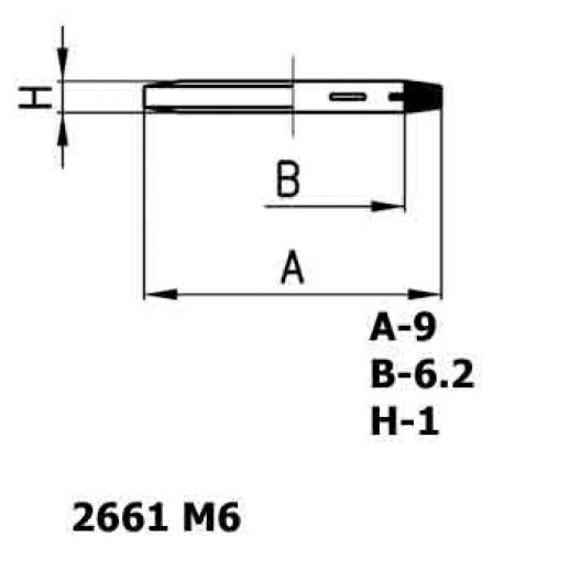Цена фитинга Уплотнительное кольцо пластиковое 2661 M6
