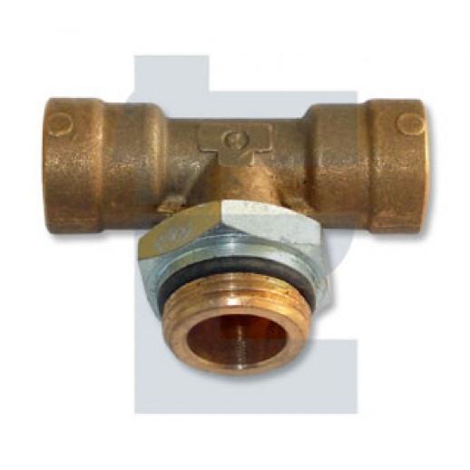 Цена фитинга D6412 10-M22x1.5 Фитинг тройник D6412 10-M22x1.5