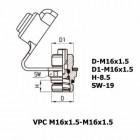 Цена на фитинг Фитинг контрольного вывода VPC M16x1.5-M16x1.5 VPC M16x1.5-M16x1.5